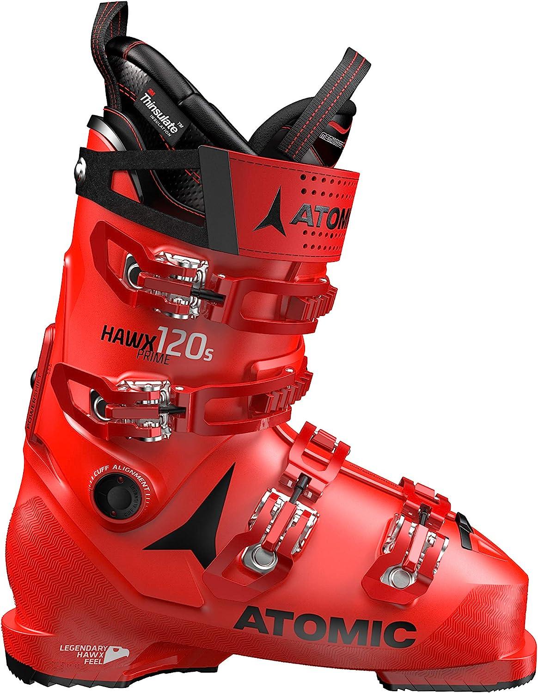 ATOMIC(アトミック) スキーブーツ HAWX PRIME 120 S (ホールス プライム 120 S) AE5019640 赤/黒 29X