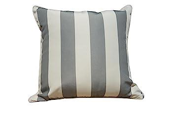 Direct Wicker 45 X 45 Cm Wasserdicht Streifen Sofa überwurf Kissen