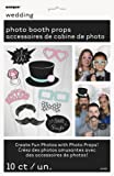 10-tlg. lustige Foto Requisiten für Hochzeitsfotos - Hochzeit Fotos Photos Props