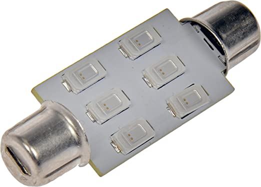 White 15-SMD LED Turn//Tail Light Bulb IL-7443W-15-AM Pilot Automotive 2 Piece