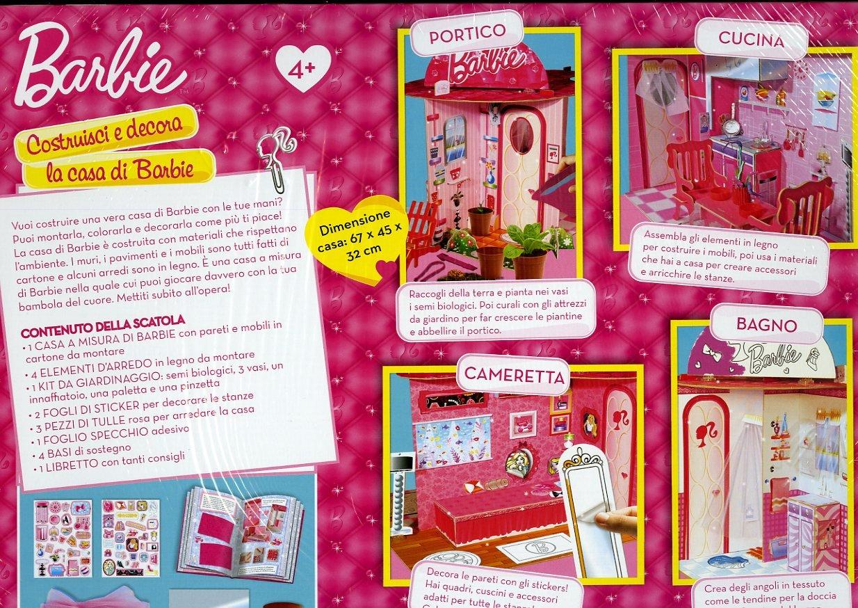 Mobili Per La Casa Di Barbie : Lisciani barbie costruisci e decora la mia casa verde