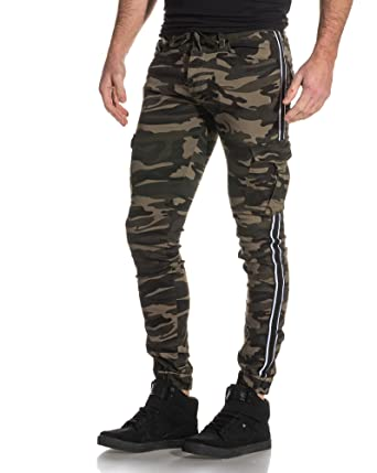 Bandes Contrastantes avec Camouflage Pant X PROJECT Cargo Jogger qY0F8gxC