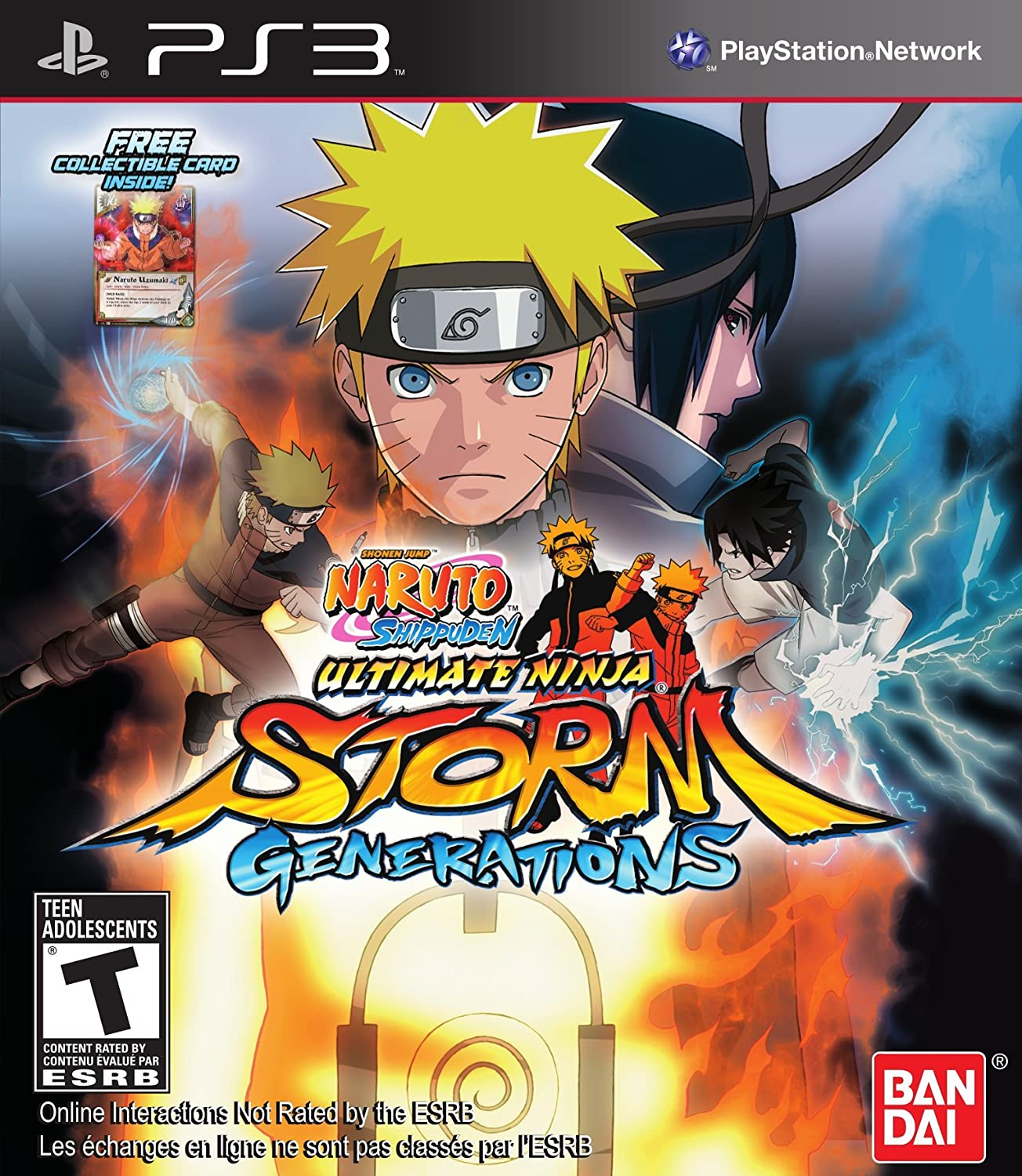 Naruto Shippuden Ultimate Storm Generations PS3 US: Amazon ...
