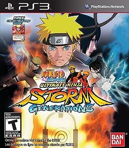 Naruto Shippuden: Ultimate Ninja Storm Generations - Playstation 3 (Limited)