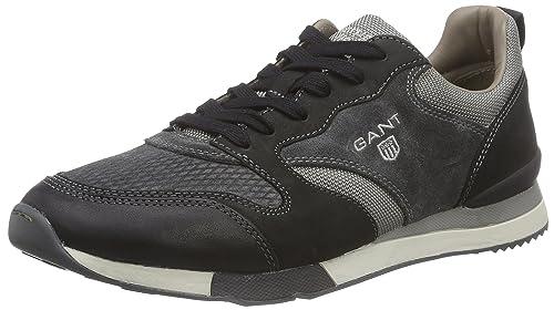 GANT Russell - Zapatilla Deportiva de Cuero Hombre, Color Gris, Talla 40: Amazon.es: Zapatos y complementos