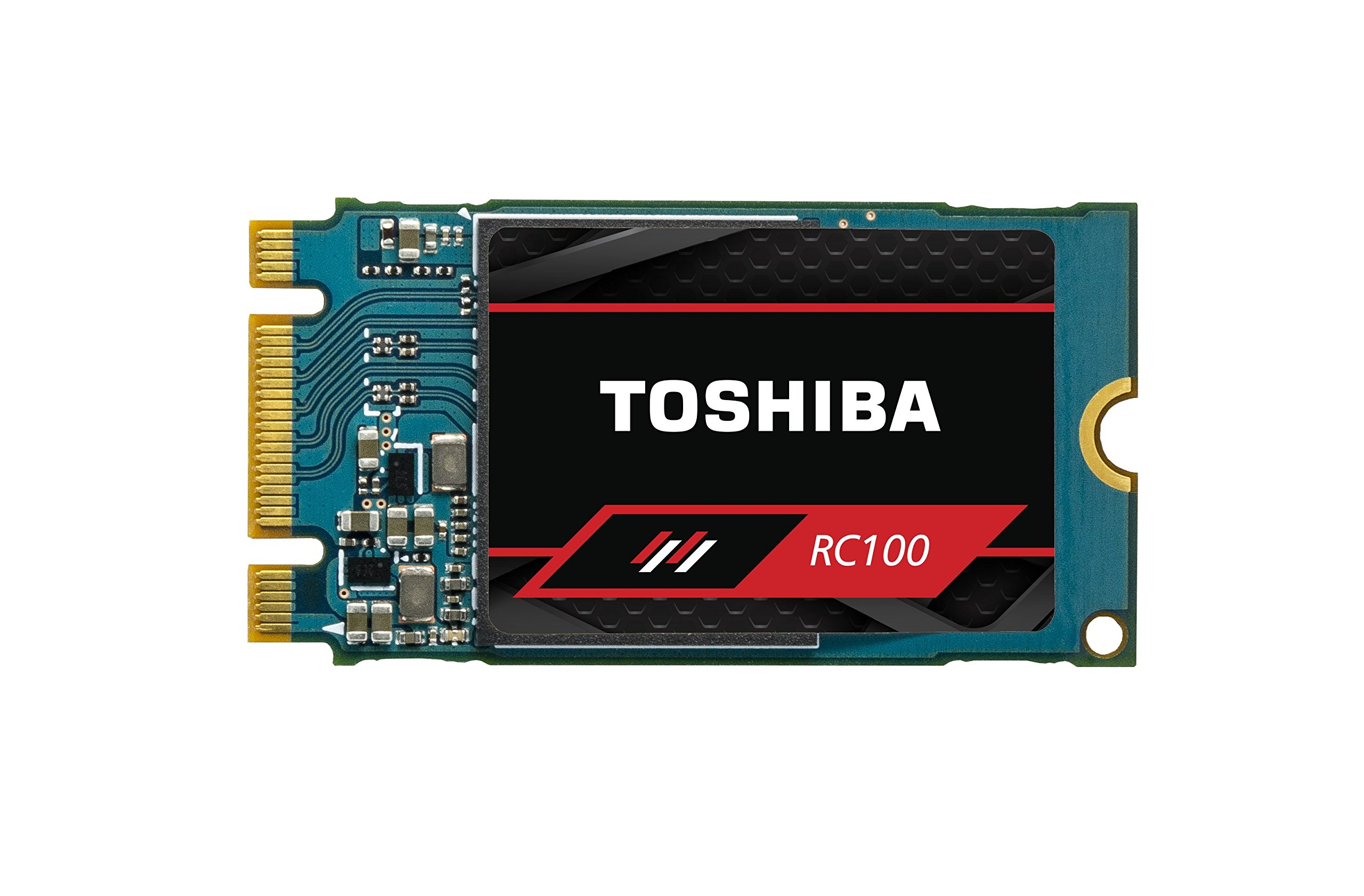 Toshiba Memory America THN-RC10Z2400G8(TS OCZ RC100 Series NVMe M.2 2242 Internal SSD 240GB by Toshiba Memory America