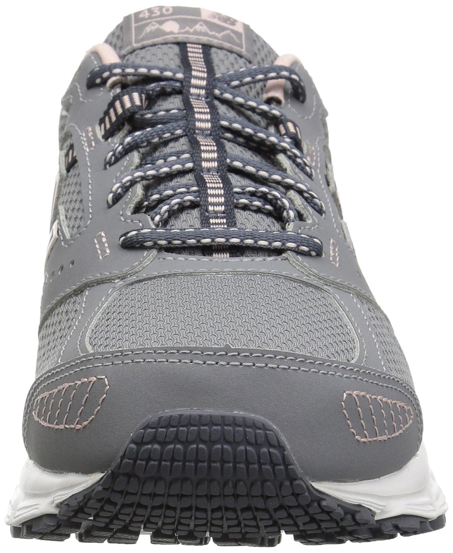 New Balance Women's 430v1 Running Shoe B075XLQVYM 5 B(M) US|Steel/Clear Sky