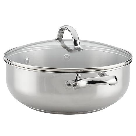 Farberware buena cocina cubiertos de acero inoxidable Cacerola