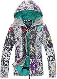 APTRO Women's Ski Jacket High Windproof Waterproof Technology Snow Insulated Jacket