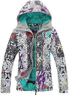 APTRO Womens Snow Skiing Jacket High Windproof Waterproof Technology Insulated Jacket