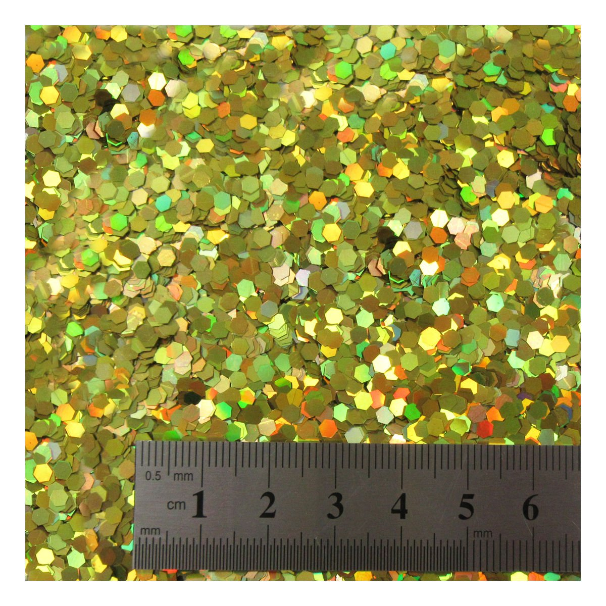 15 grams LARGE SILVER HOLOGRAPHIC GLITTER *4 SIZES* CRAFTS NAIL ART CARD MAKING UK (1/10 (C1443)) Beads4crafts