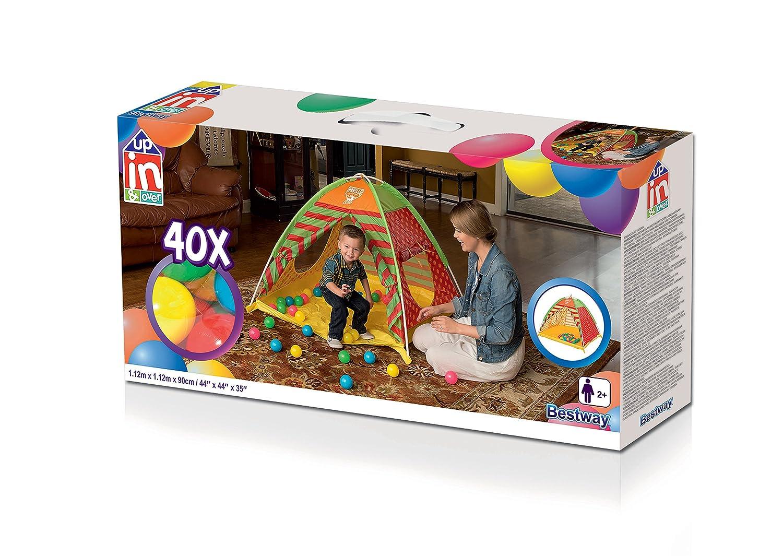 Tende Per Bambini Con Palline : Bestway tenda da gioco pit per bambini con palline colorate