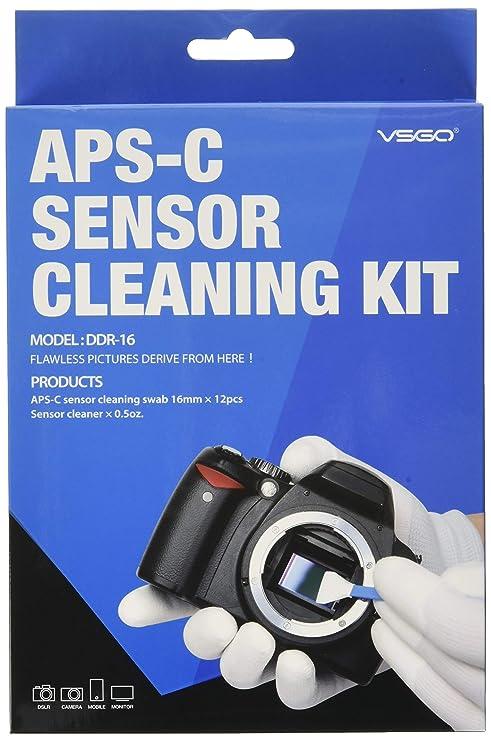 UES DDR-16 Equipo Limpieza Sensor de APS-C para SLR DSLR Cámara ...