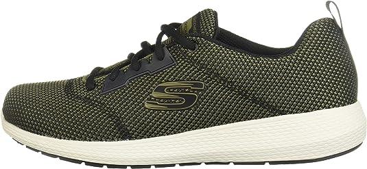 Skechers KULOW 52882 - Zapatillas de deporte para hombre, talla grande, color verde, color Verde, talla 48.5 EU: Amazon.es: Zapatos y complementos