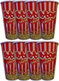 Black Duck Brand Personal Size Plastic Red Popcorn Buckets Bowls Fun Design Perfect Size (8)