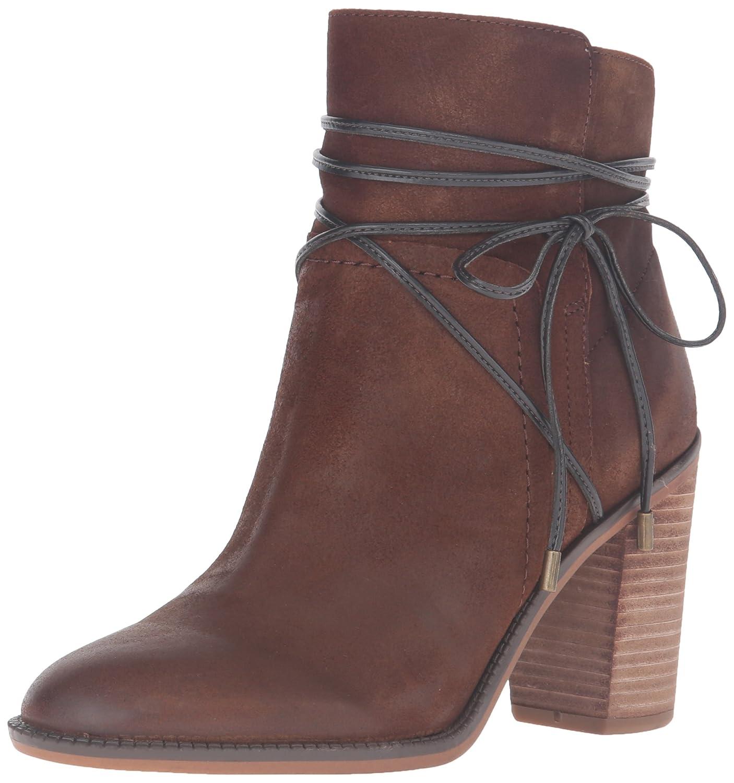 Franco Sarto Women's Edaline Ankle Bootie B01EA1EUC8 8 B(M) US Tan