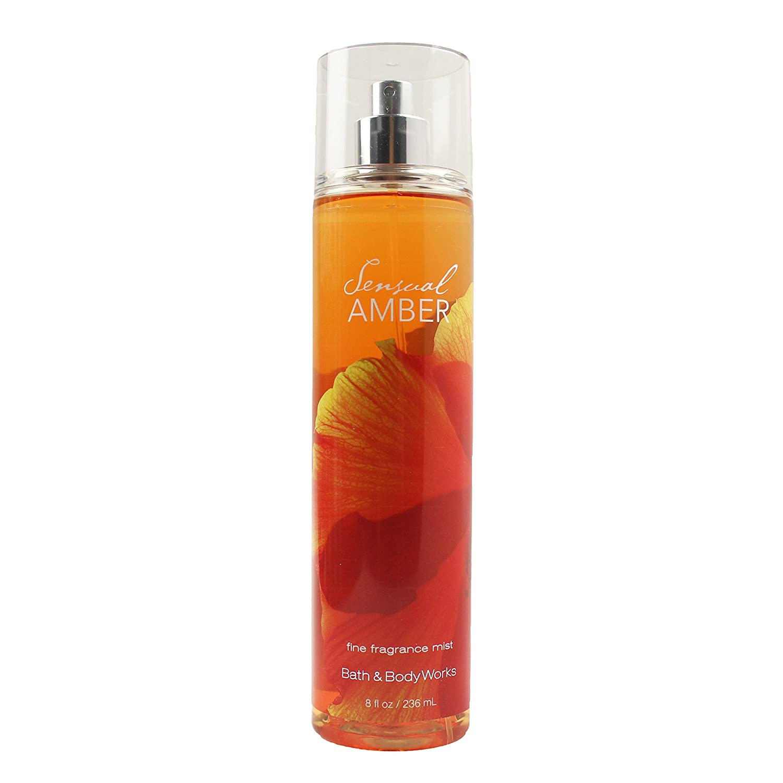 Bath & Body Works Sensual Amber Fine Fragrance Mist, 8.0 Ounce