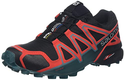 Salomon Speedcross 4 GTX Black High Risk Red Mediterranea