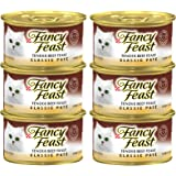 Purina Fancy Feast Classic Tender Beef Pack of 6 Pieces, 85g