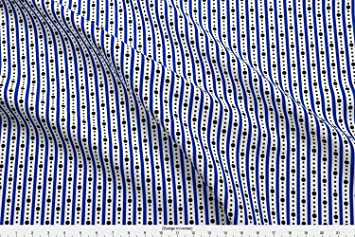 Geek Fabric Arcade Stripe White By Modgeek Printed On Performance Pique The Yard