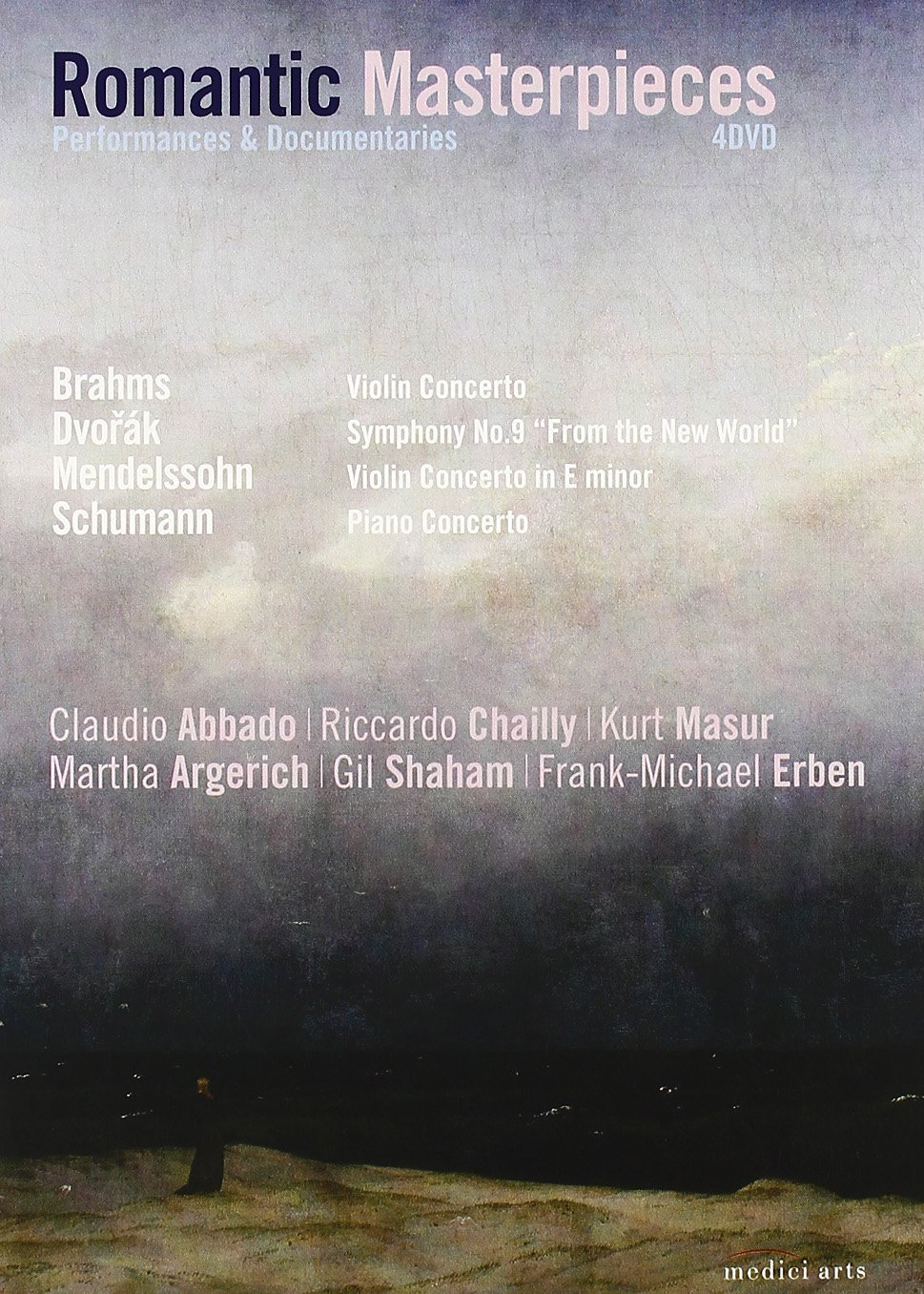 Romantic Masterpieces: Performances and Documentaries (Brahms, Mendelssohn, Dvorak, Schumann)
