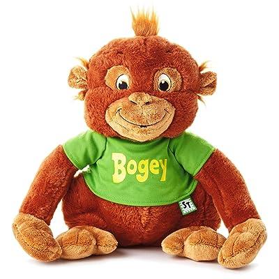 "Hallmark Shirt Tales Bogey Orangutan Stuffed Animal, 14"" Classic Stuffed Animals Movies & TV: Toys & Games"