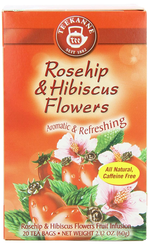 Amazon Teekanne Tea Rose Hip Hibiscus Flowers 20 Teabags