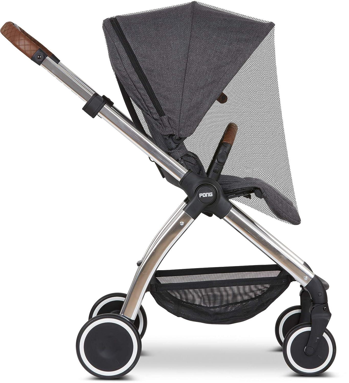 Abc Design Universal Moskitonetz Insektenschutz Für Kinderwagen Sportwagen Buggy Feinmaschig Farbe Black Baby