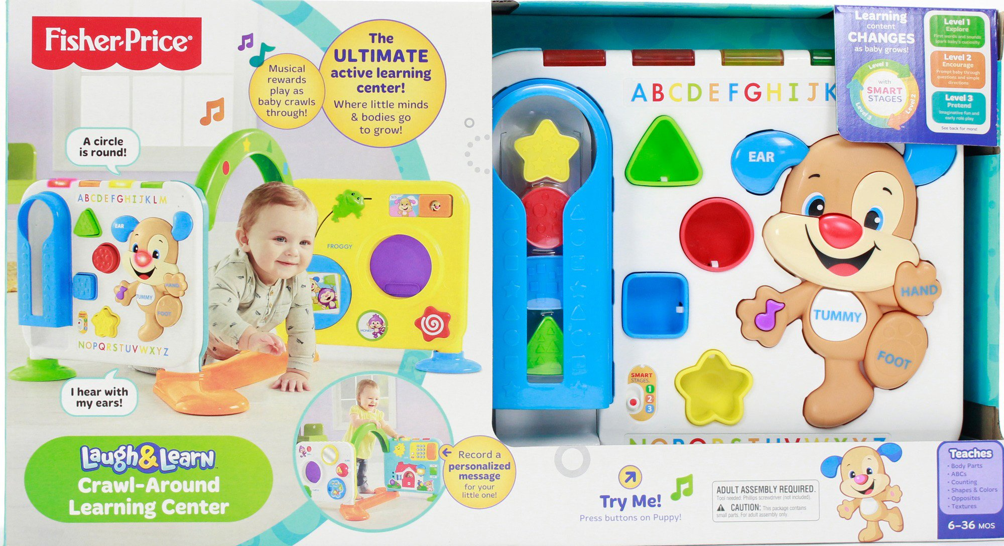 Fisher-Price Laugh & Learn Crawl-Around Learning Center by Fisher-Price (Image #5)