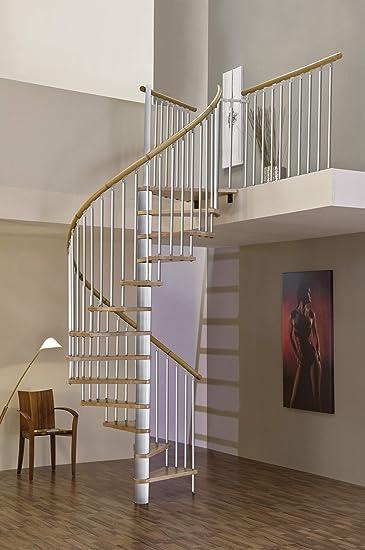 Ahorro de espacio en el interior del husillo escalera escalera de ...