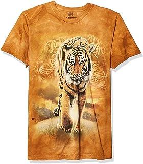 La montagne Unisexe Adulte Emerald Forest Tiger T Shirt