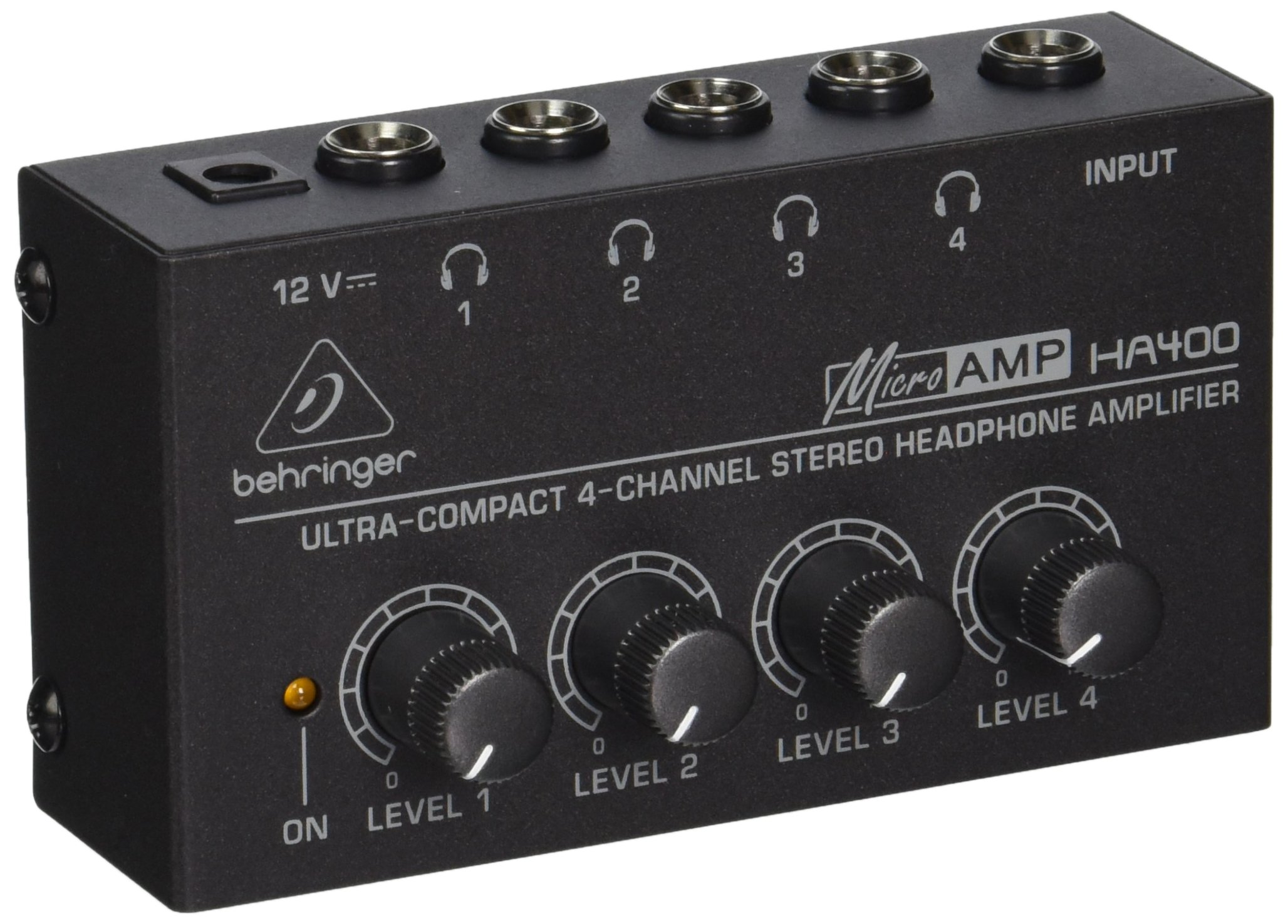 Behringer MICROAMP HA400 Amplificateur Casque 4 canaux product image