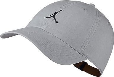 Nike Gorra Jordan H86 Jumpman Washed Hombre Gris Talla Unica ...