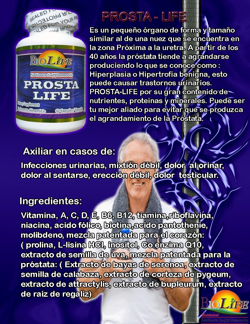 Prosta Life 33 Ingredient Prostate Supplement, with Saw Palmetto, Pumpkin Seed, Prostate and Urinary Trac Infections