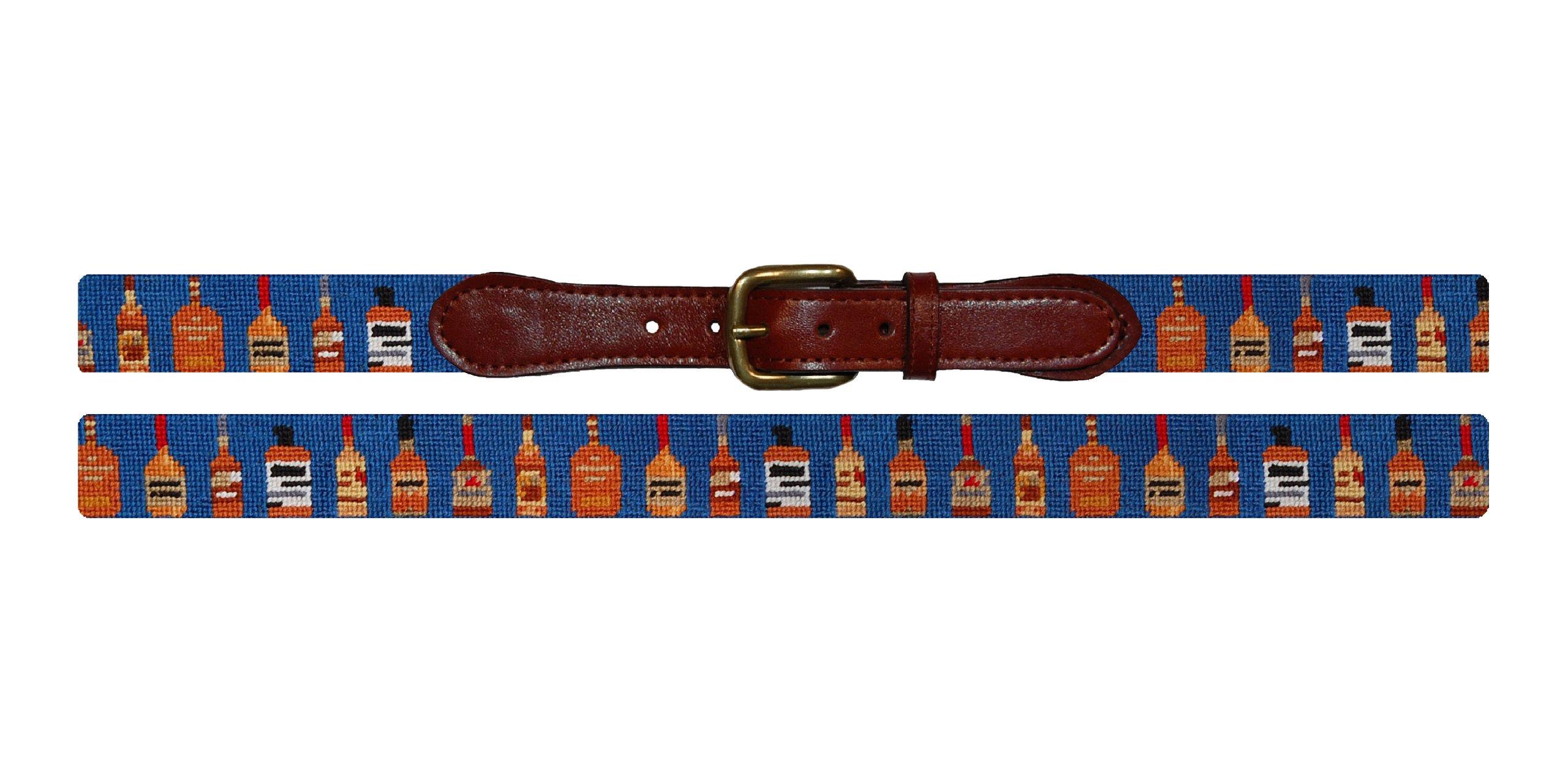 Smathers & Branson Bourbon Traditional Needlepoint Belt, Size 34 (B-159-34) by Smathers & Branson (Image #1)