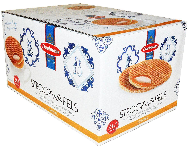 Daelman's Stroopwafels Caramel Pack of 24 (1.38 Ounce) by Daelmans