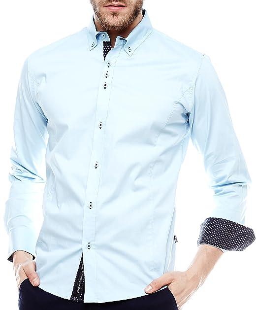 CRSM - Camisa casual - para hombre DLk22