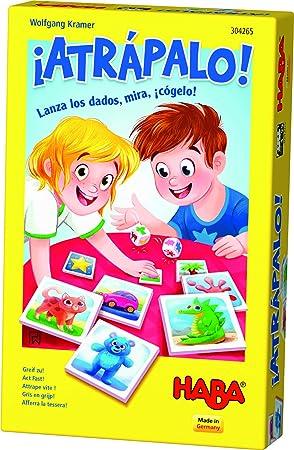 HABA-Juego de Mesa, ¡Atrápalo, Multicolor (Habermass H304265): Amazon.es: Juguetes y juegos