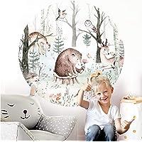 Little Deco Muursticker kinderkamer wandsticker bosdieren 60 cm wanddecoratie speelkamer sticker kinderen muursticker…
