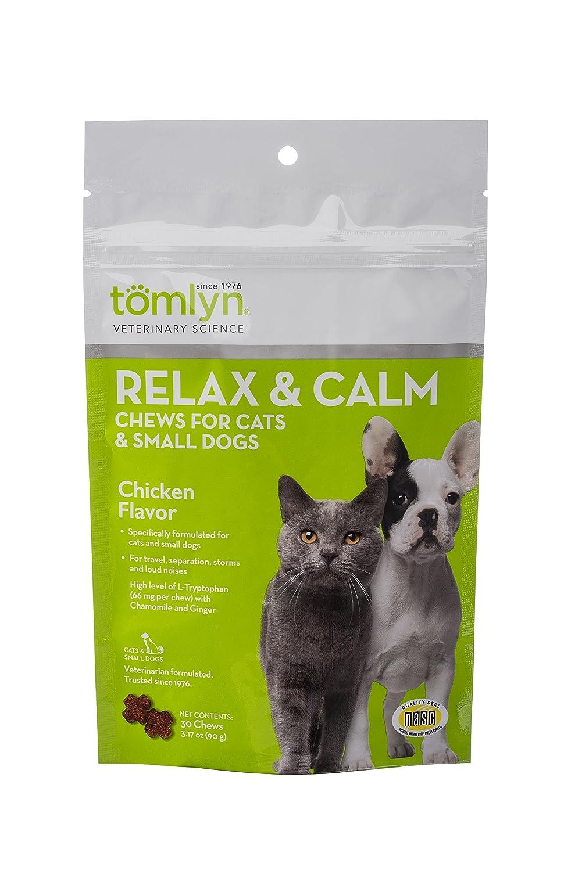 tomlyn Relax y la Calma - Chucherías para Gatos y Perros pequeños ...