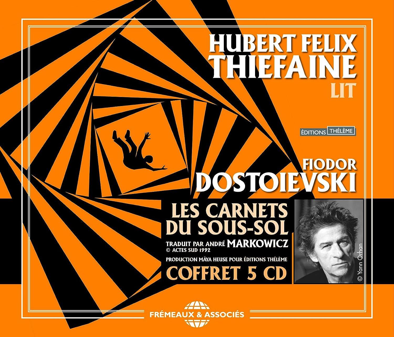 Les Carnets Du Sous-Sol de Fiodor Dostoievski