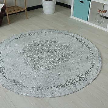 20 Frisch Teppich Rund 120 Cm Bilder