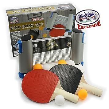 Matty de Juguete Stop Deluxe - Red de Tenis de Mesa (Ping Pong ...