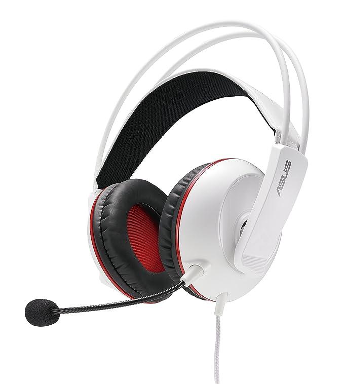 78 opinioni per ASUS Cerberus Artic Cuffie da Gaming, Driver 60 mm, Compatibilità 4 Poli, PC,