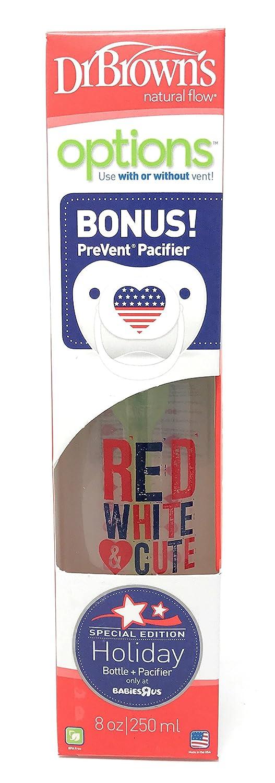 Amazon.com: Dr. Browns Botella, color rojo y blanco & Cute ...