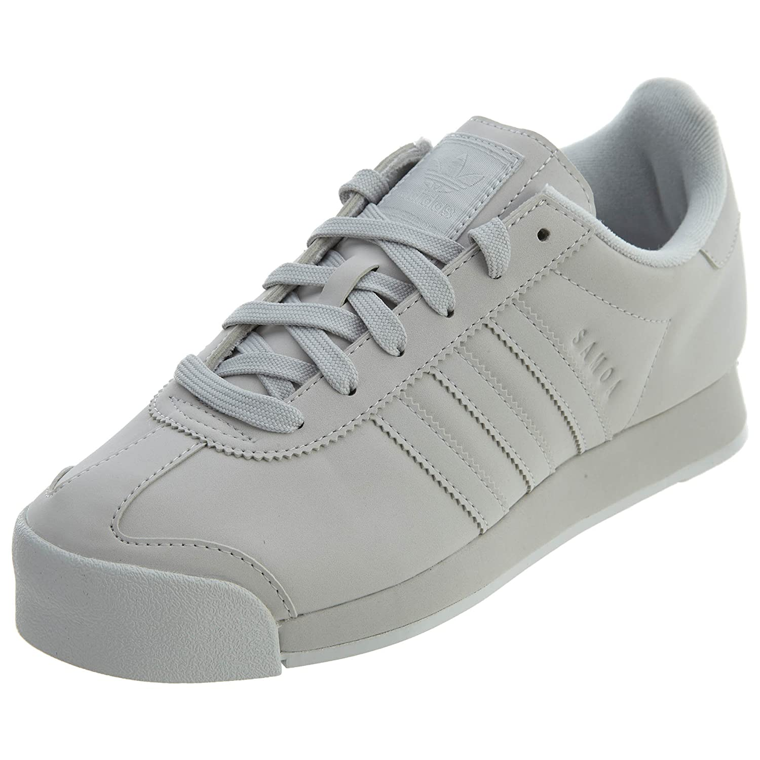adidas Originals Women's Samoa + W B01N4E1ITP 7.5 B(M) US|Grey One/Grey One/White