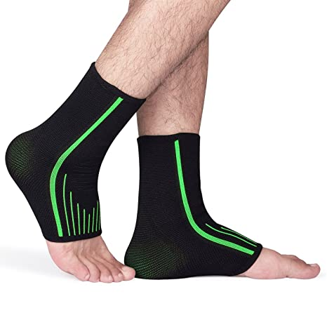 Fullmosa Tobillera Protección (1 par), Will Series Soporte Tobillo, Calcetines de compresión