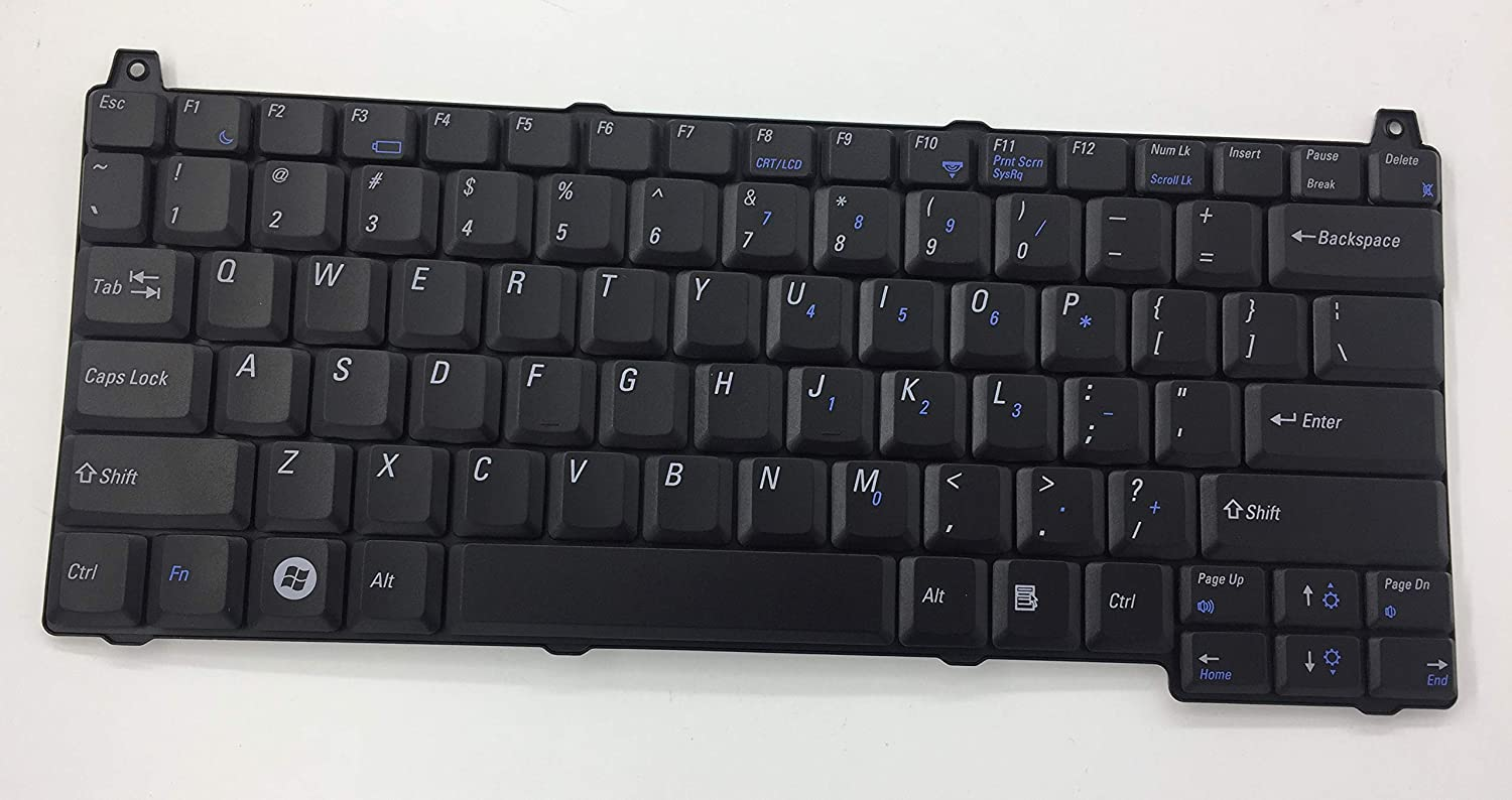 US Layout Replacment Keyboard for Dell Vostro 1510 Compatible 0J483C