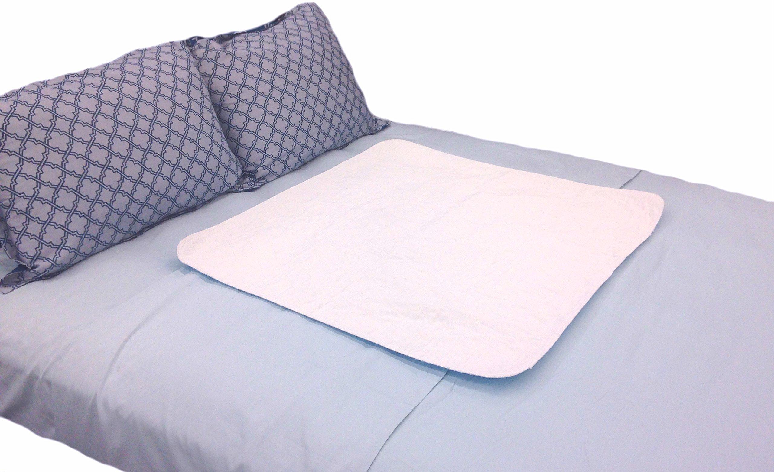 Amazon.com: Large Premium Absorbent Waterproof Bed Pad