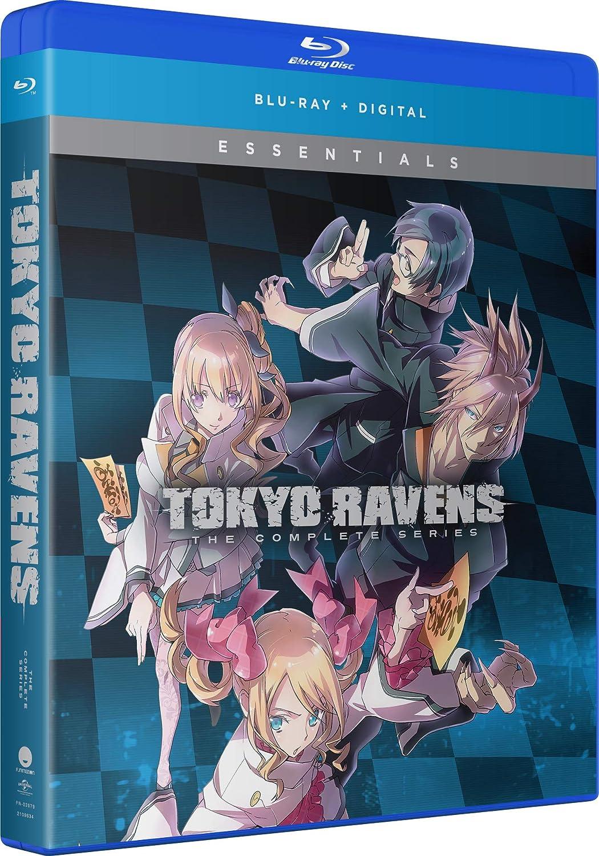 Tokyo Ravens Complete Series Essentials Blu-ray (Dual Audio)